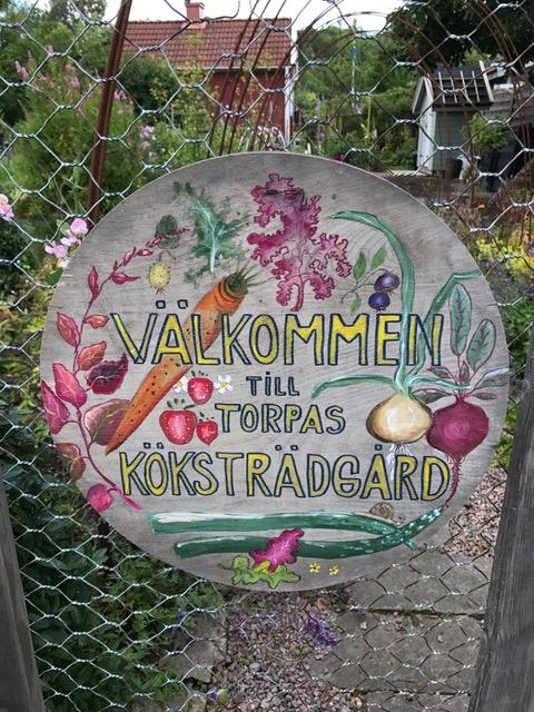 Välkommen till torpas köksträdgård